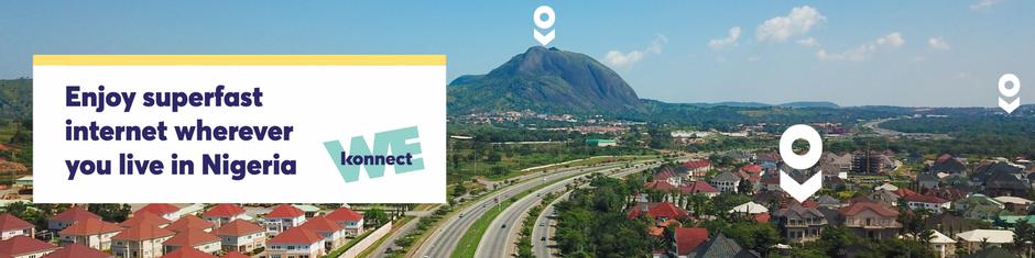 Satellite Broadband Internet Nigeria Konnect Nigeria Eutelsat Ka-Band Nigeria high speed Internet Nigeria best ISP Nigeria