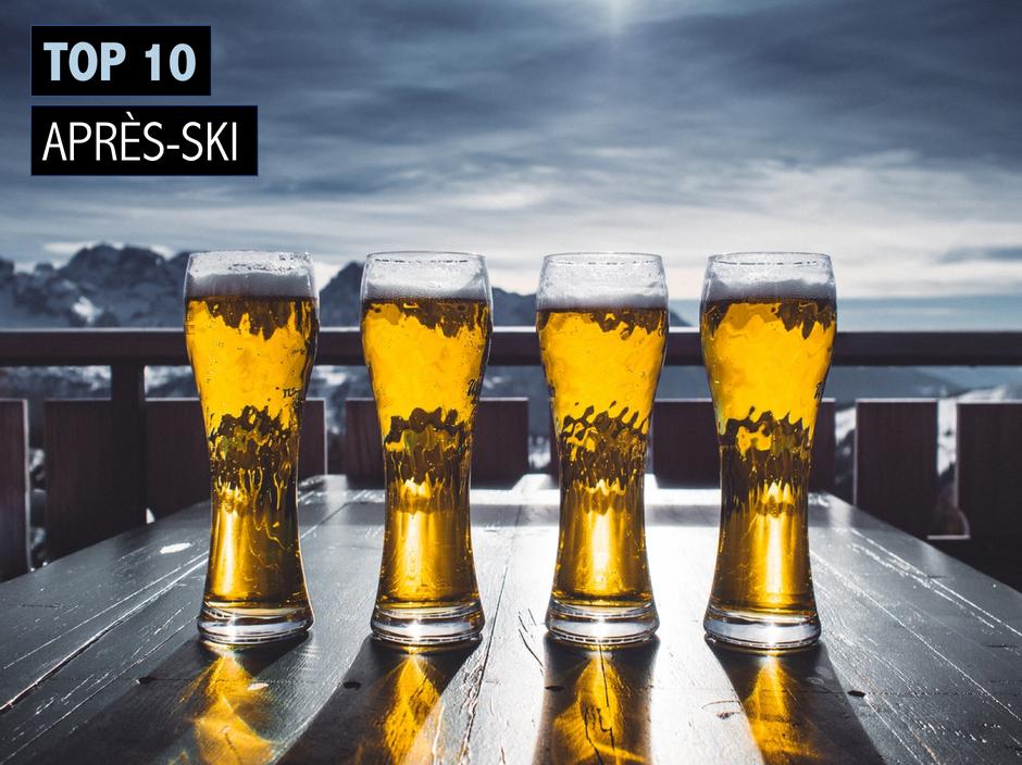 Blog Top 10 Après Ski Schweiz Berge
