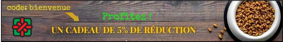 code de réduction animalerie