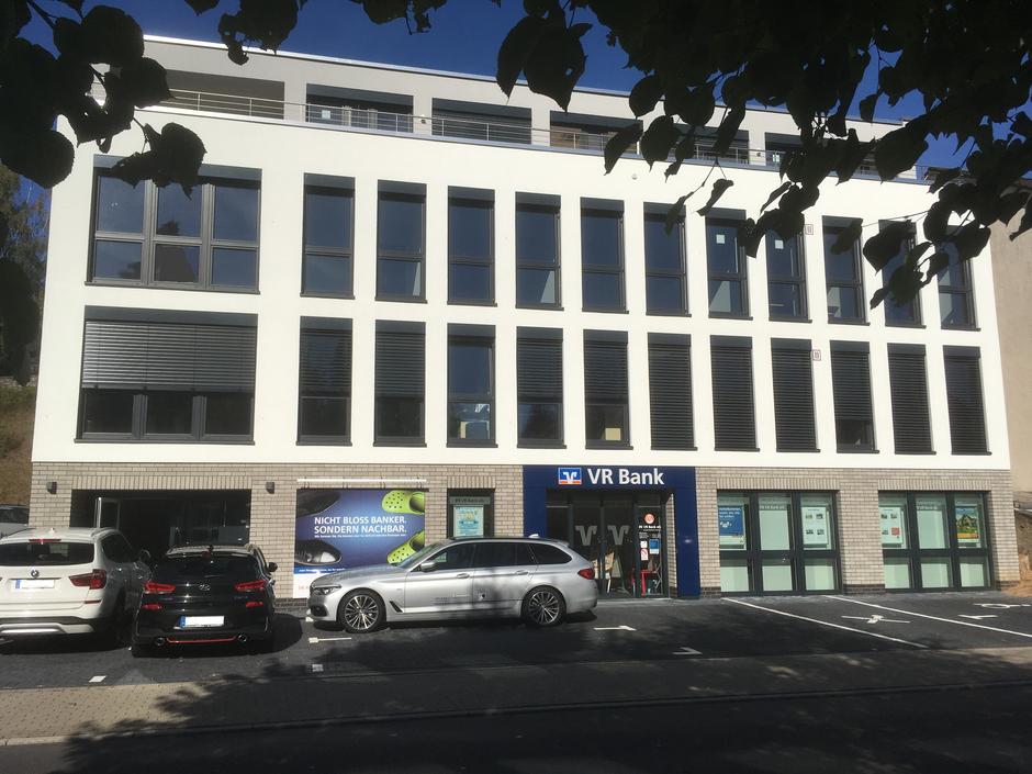 Ansicht unseres neuen Bürogebäudes