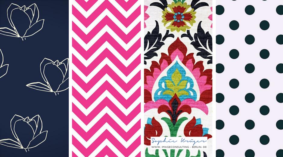klare, grafische Muster passen zum Wintertyp, empfohlen durch Sophie Krüger - Stilberatung Berlin