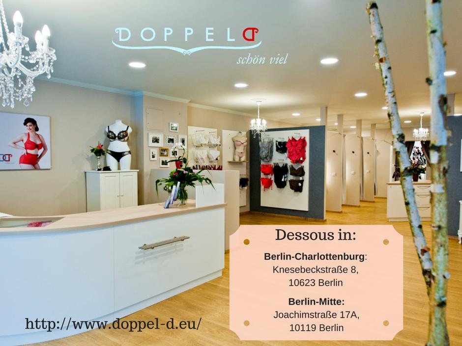"""Dessous-Shop """"Doppel-D"""" in Berlin Mitte und Charlottenburg"""