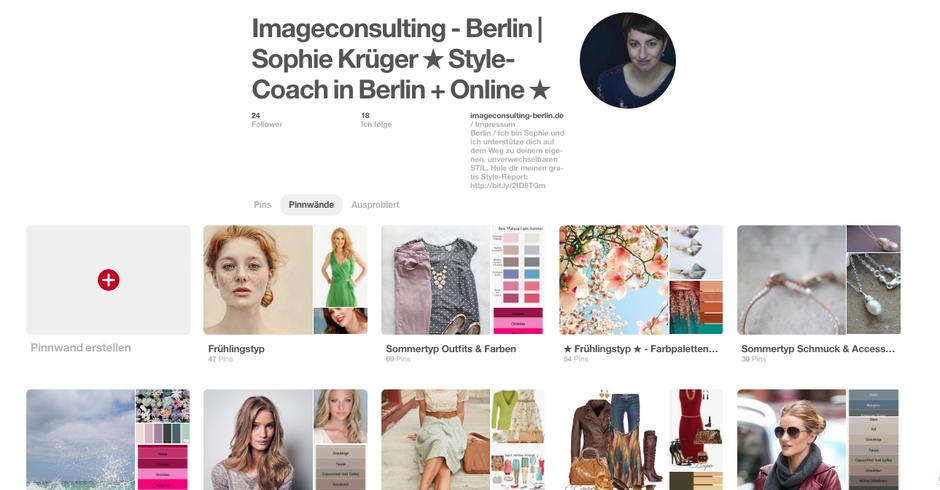 So nutzt du Pinterest für Stiltipps, Moodboard, Farbtyp und Stilberatung