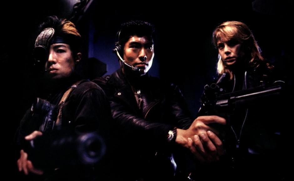 Die letzte Hoffnung der Menschheit: Babe (Aya Enjoji), Brooklyn (Masahiro Takashima) und Sgt. Nim (Brenda Bakke)