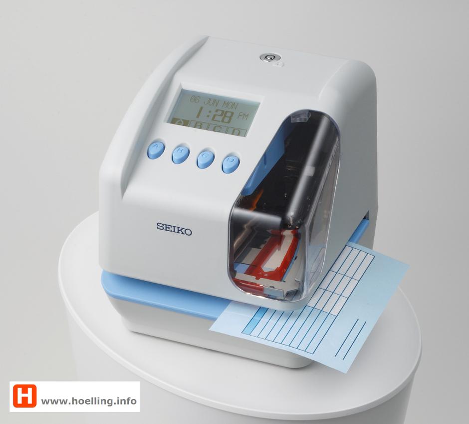 Zeit- und Datumsstempler SEIKO Precision TP-50   -   hoelling.info