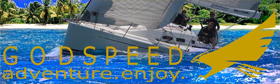 adventure.enjoy. Sailing by GODSPEED