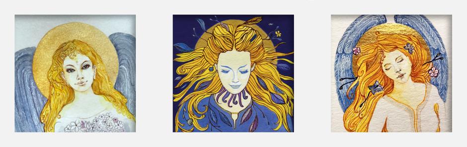 AGNYA HEALING ART - Engelbilder - zauberhafte Boten der Liebe