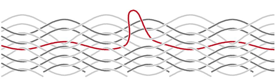 ハンモックの糸が伸びた場合の修理方法2