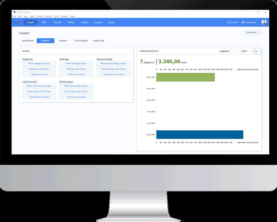 Den Projekterfolg verfolgen - mit OfficeAssistant CRM