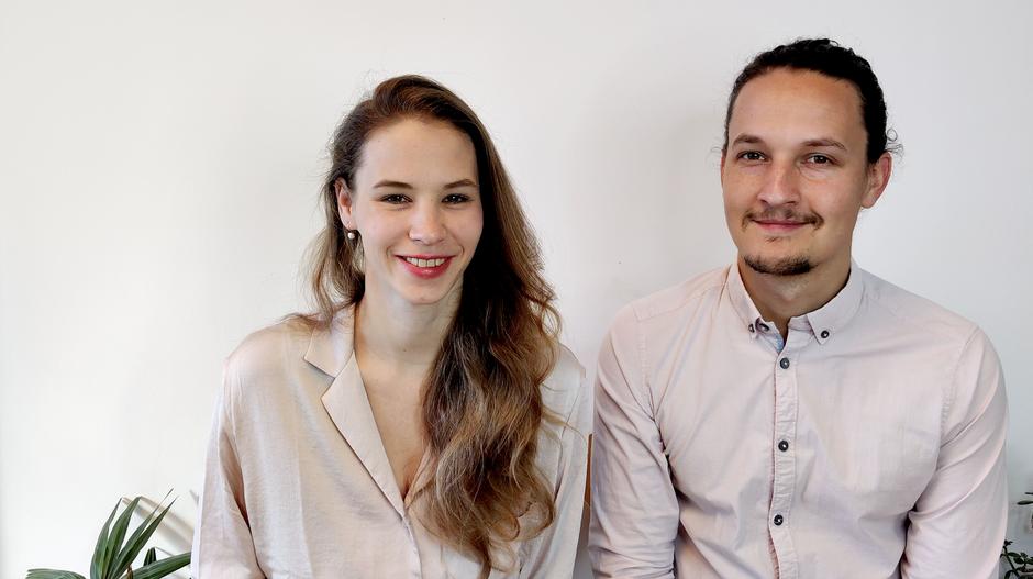 Marielle Faber, Daniel Lerch, NeuroScanBalance Trainer