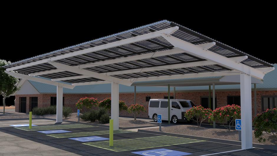 Wakefield Solar Structure