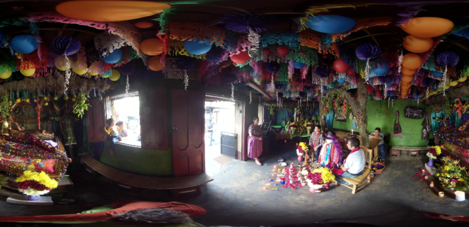 "Filmstill from the VR-360 experience of the ""Research for Development"" project in Guatemala; in cooperation with the ETH Zurich and Universidad San Carlos Guatemala"