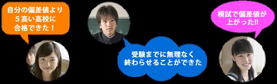 長野県公立高校入試 偏差値アップ
