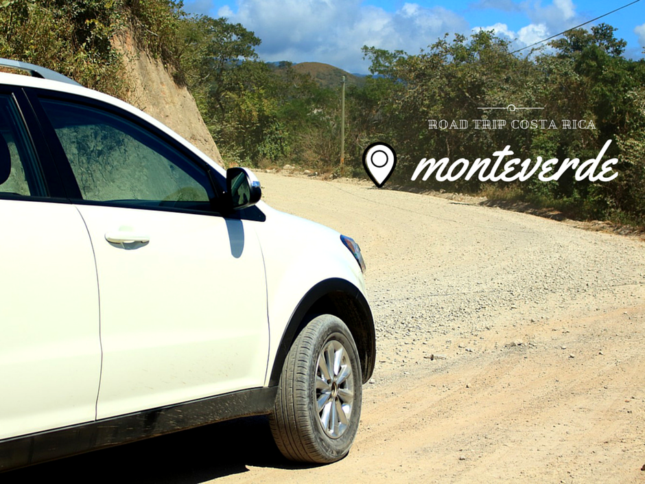 Route pour Monteverde. roadtrip Costa Rica. missaventure blog