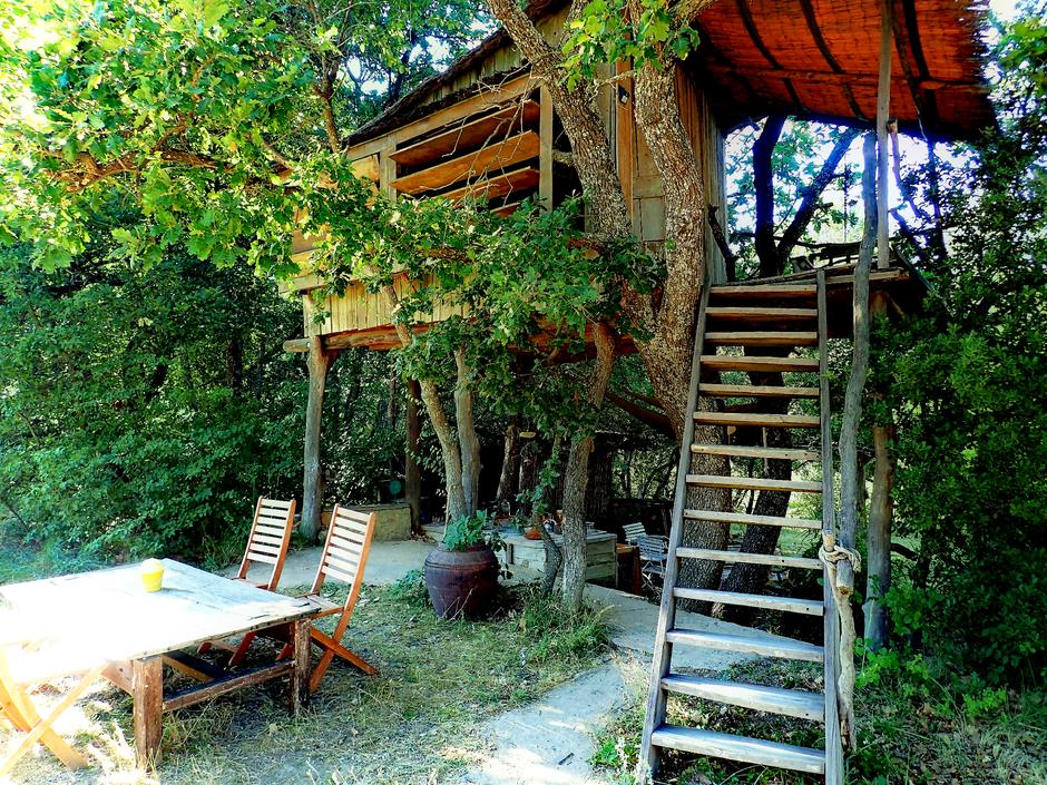 Le refuge du temps perdu, cabane dans les arbres, VAUCLUSE. www.missaventure.com. blog aventures, nature et photos