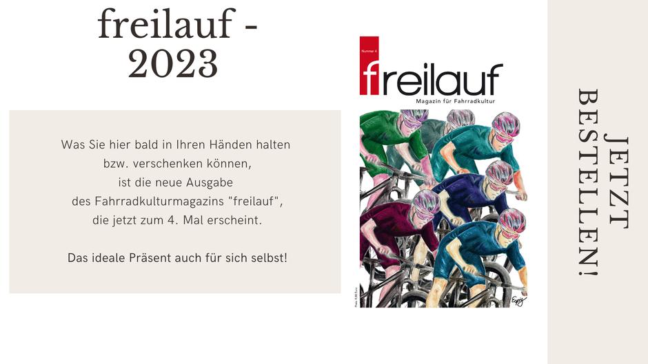 freilauf - Magazin für Fahrradkultur - Jetzt bestellen!