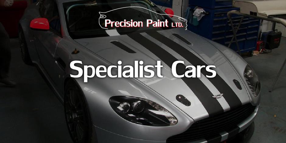Aston Martin Quicksilver Intro Image, Precision Paint, Wellington, Somerset