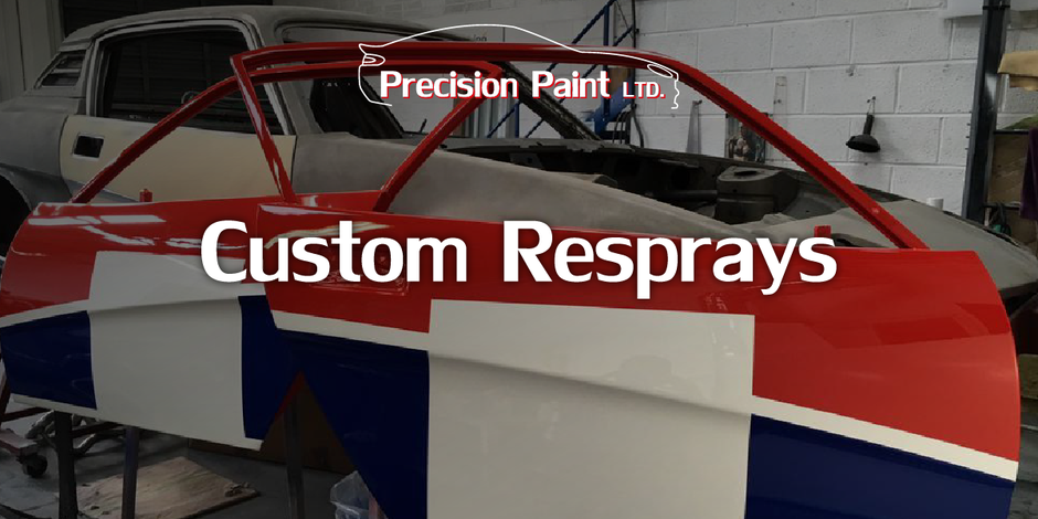 Custom Car Body Respray Intro, Precision Paint, Wellington, Somerset