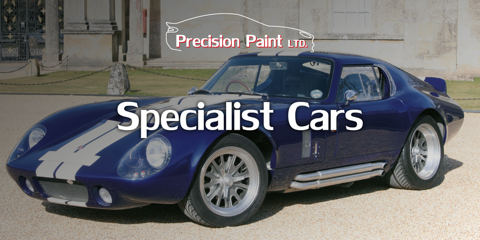 Specialist Race Car Paintwork Graphic with Juno, Precision Paint, Wellington Somerset