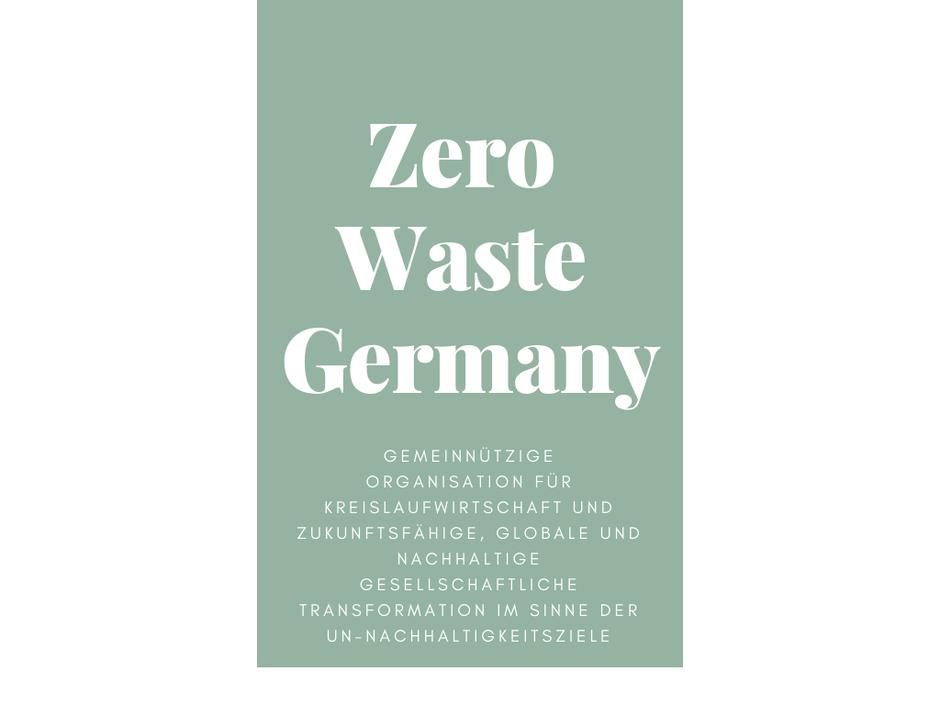 Zero Waste Germany Deutschland