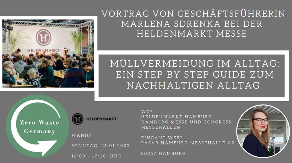 Marlena Sdrenka Geschäftsführerin Zero Waste Germany Vortrag Hamburg Messehallen