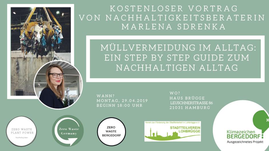 Zero Waste Bergedorf Vortrag Marlena Sdrenka