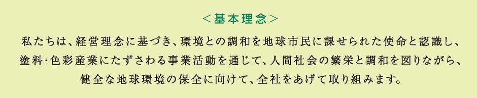 シモダの環境方針・ISO14001