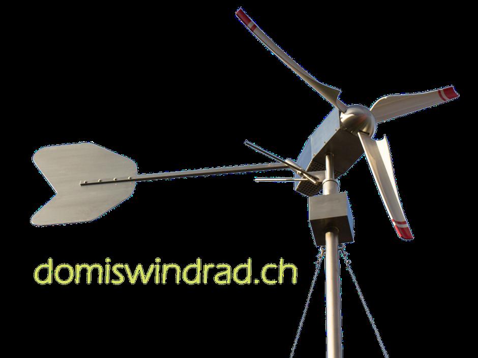 domiswindrad.ch Turbine ausgeschnitten altes Logo Maturaarbeit Gymnasium Neufeld