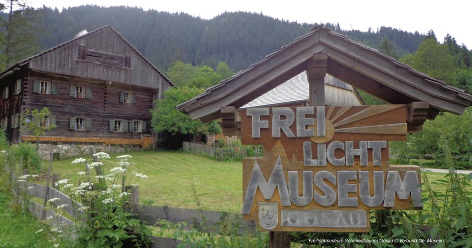 Freilichtmuseum Hallstatt, Freilichtmuseum Gosau, Gosausee, Gebäude, Hofformen, Museum UNESCO Welterberegion