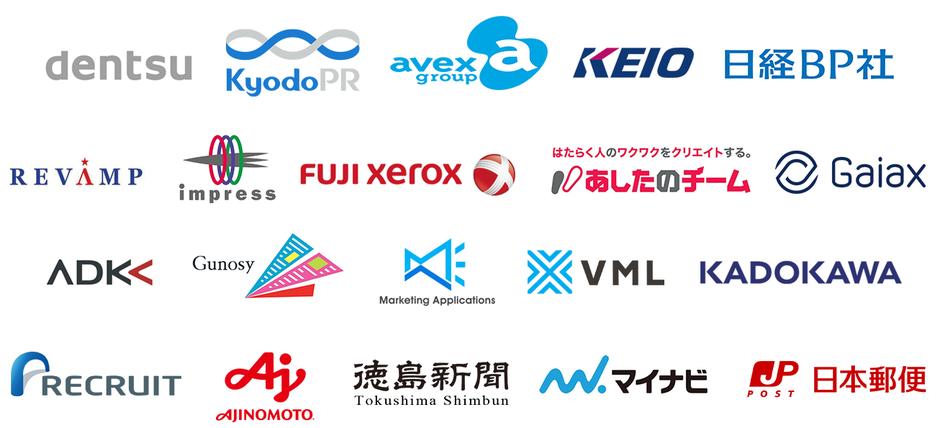 IT・広告・マーケティング翻訳の取引実績の一覧です。
