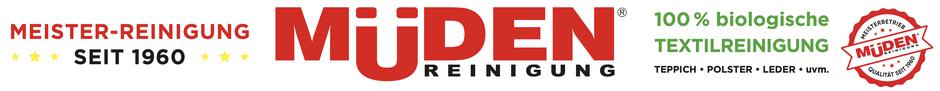 Versandreinigung-mueden.de, Meisterreinigung, Banner