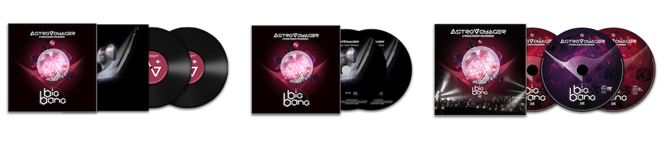 ASTROVOYAGER BIG BANG LP CD DVD