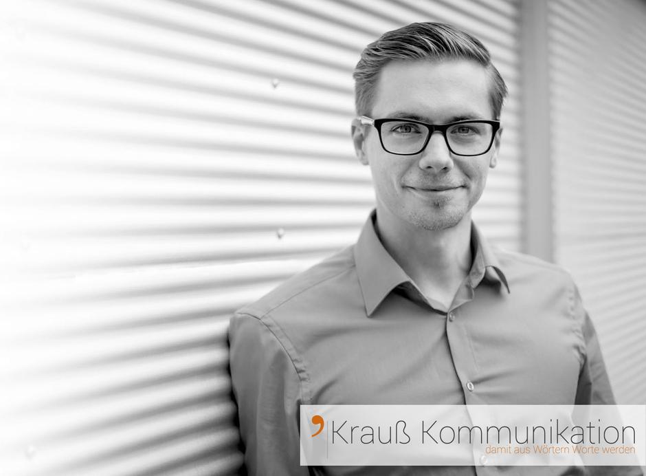Christian Krauß, Werbe-Texter