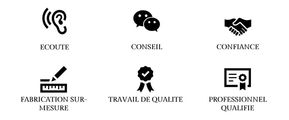 ARTISAN MENUISIER EBENISTE QUALIFIE à côté de BRIVE LA GAILLARDE en CORREZE. QUALITE DE TRAVAIL, FINITIONS DE QUALITE, RELATION DE CONFIANCE, ECOUTE ET RESPECTS DES ATTENTES, CONSEILS PROFESSIONNELS, FABRICATION SUR-MESURE, CREATION BOIS, FABRICATION BOIS