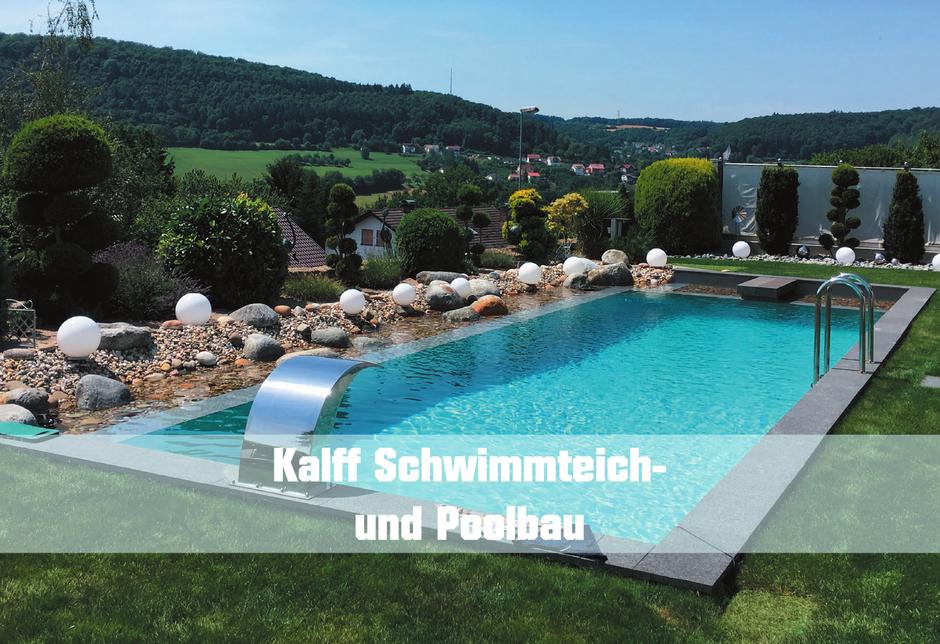 Leben im Garten - Kalff Schwimmteich- und Poolbau
