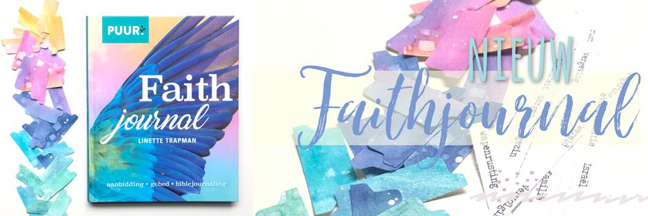 Nieuw geloofsdagboek: faithjournal van Linette Trapman.