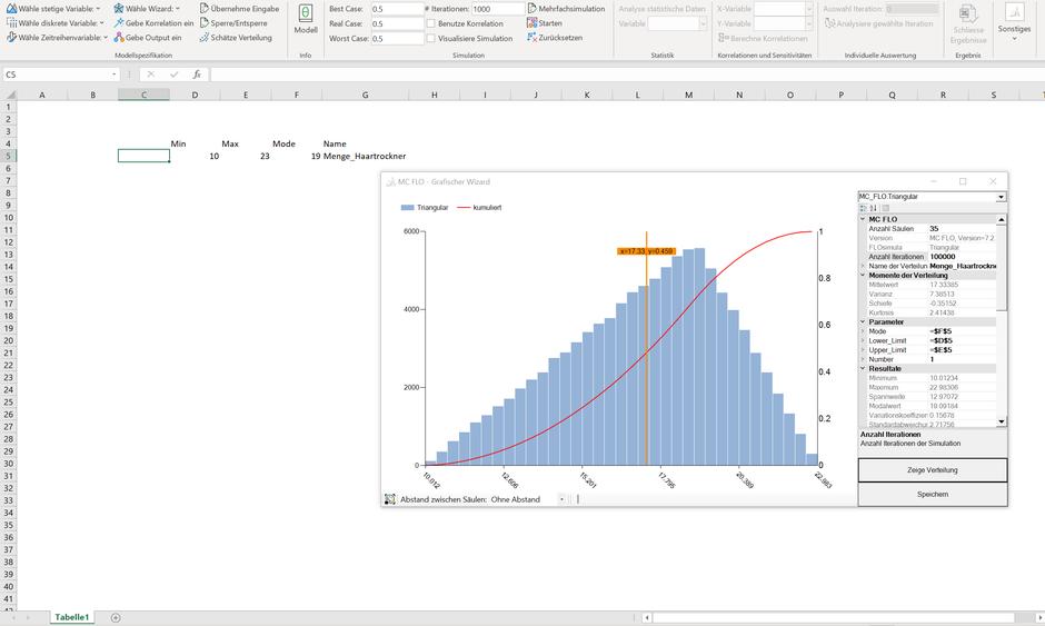 Benutzerdefininierte Verteilung - Herleitung über Daten