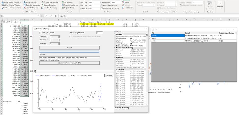 Schätzung Zeitreihenprozess mit nearest neigbour Verfahren