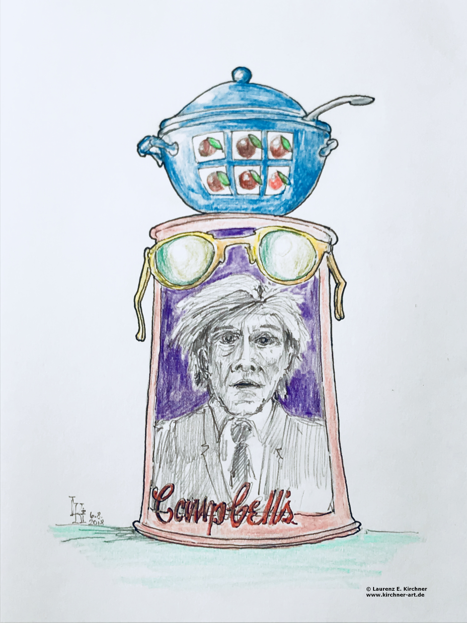 90. Geburtstag Andy Warhol