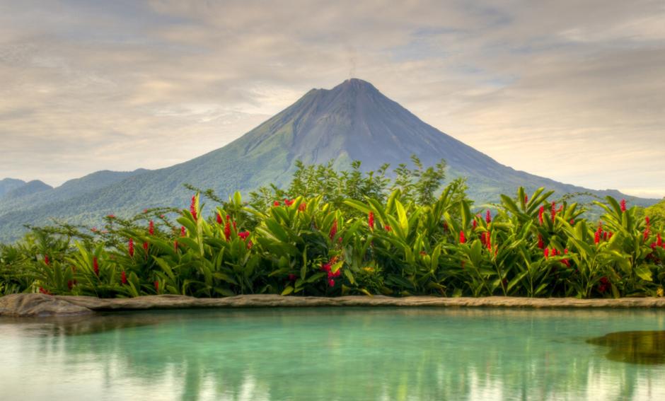 Vulkan in Costa Rica. Hotel beim Vulkan in Costa Rica. Ferien buchen in Costa Rica. Abenteuerferien in Costa Rica.