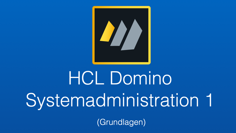 HCL Domino 11 Systemadministration 1