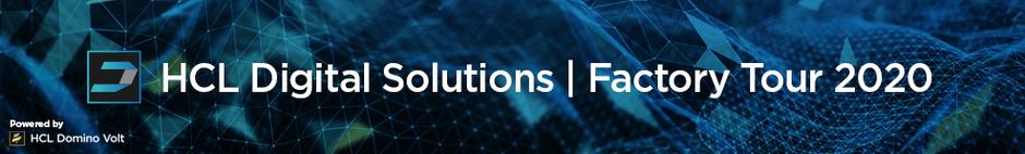 HCL Digital Solution - Factory Tour 2020