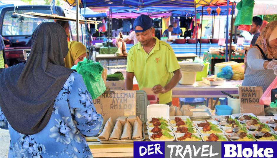 Langkawi Nachtmarkt Bilder: Take Away für Einheimische