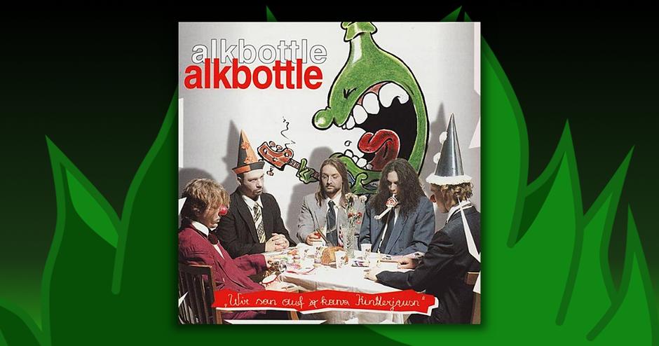 Alkbottle - Wir San Auf Kana Kinderjausn