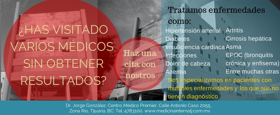 Dr. Jorge González Médico Internista en Tijuana