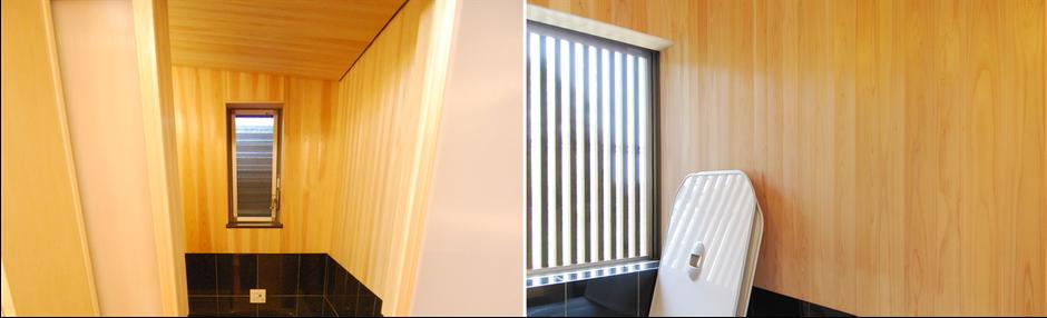 大阪府吹田市のWASH建築設計室はヒノキの香るお風呂を積極的に提案しています。ヒノキのお風呂は窓との関係性が大切です。