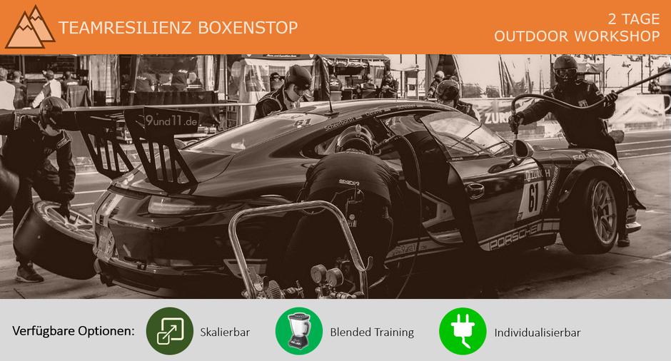 Teamresilienz Boxenstop Workshop