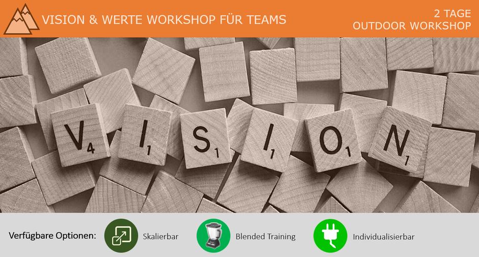 Vision und Werte Workshop