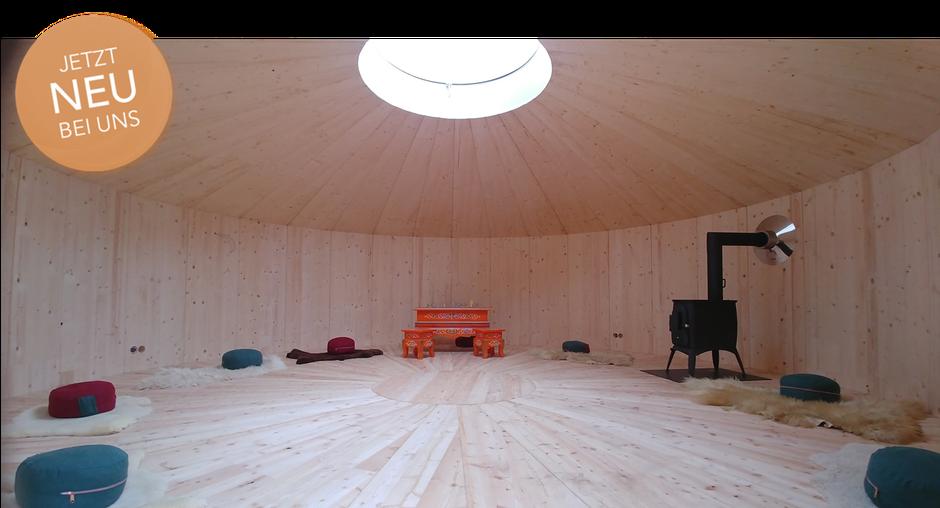 Coaching in einer mongolischen Holzjurte in Heidelberg