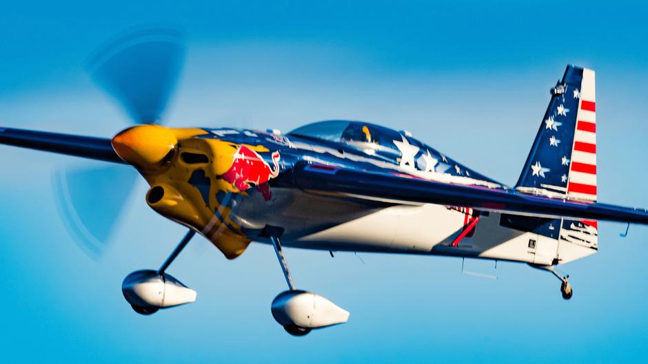 レッドブルのエアレース機